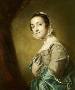 Joshua Reynolds - Possibly Elizabeth Hamilton, Mrs John Cameron of Glenkindy, Later the Comtesse de Fay