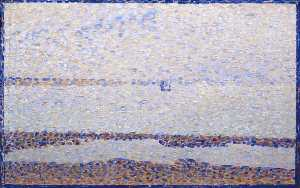 Georges Pierre Seurat - Beach at Gravelines