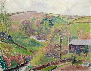 Lucien Pissarro - Blackpool Valley, 1913