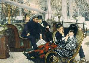 Jacques Joseph (James ) Tissot - The Last Evening