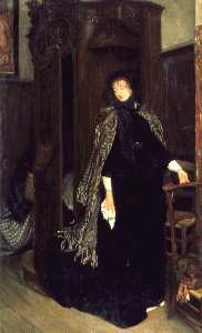 Jacques Joseph (James ) Tissot - In Church