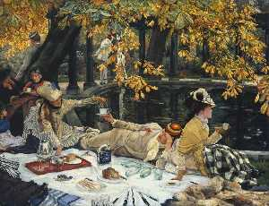 Jacques Joseph (James ) Tissot - Holyday