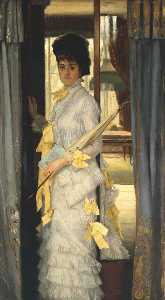 Jacques Joseph (James ) Tissot - Portrait