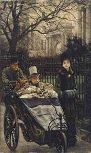 Jacques Joseph (James ) Tissot - A Convalescent