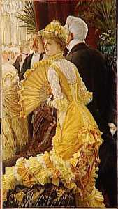 Jacques Joseph (James ) Tissot - LE BAL