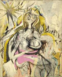 Willem De Kooning - Woman Verso Untitled