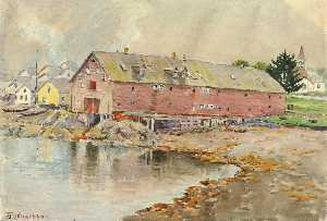 Theodore J. Richardson - The Old Warehouse, Sitka