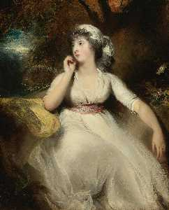 Thomas Lawrence - Portrait of Miss Selina Peckwell, later Mrs. George Grote (1775 1845)