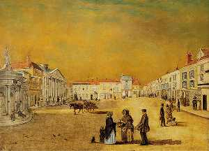 Claude Lorraine Richard Wilson Nursey - The Cornhill, Ipswich