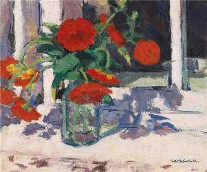 Francis Campbell Boileau Cadell - Marigolds