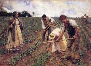 George Clausen - A Field Gang